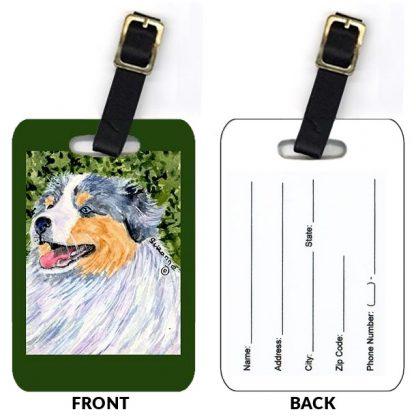 Australian Shepherd Luggage Tags (Set of 2)