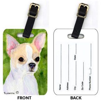 Chihuahua Luggage Tags III (Set of 2)