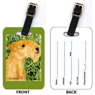 Lakeland Terrier Luggage Tags II (Set of 2)