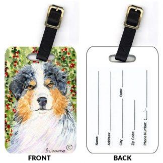 Australian Shepherd Luggage Tags II (Set of 2)