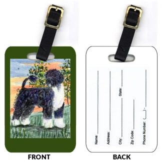 Portuguese Water Dog Luggage Tags III (Set of 2)