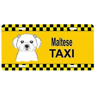 Maltese License Plate - Taxi