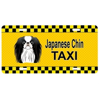 Japanese Chin License Plate - Taxi