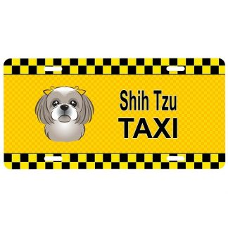Shih Tzu License Plate - Taxi II
