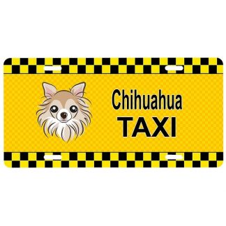Chihuahua License Plate - Taxi