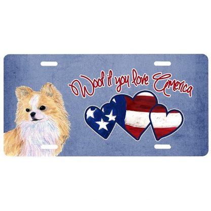 Chihuahua License Plate - Woof III
