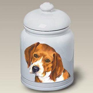 Beagle Dog Treat Cookie Jar II