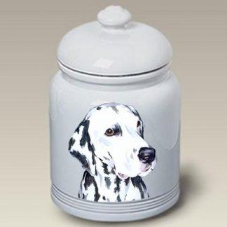 Dalmatian Dog Treat Cookie Jar II
