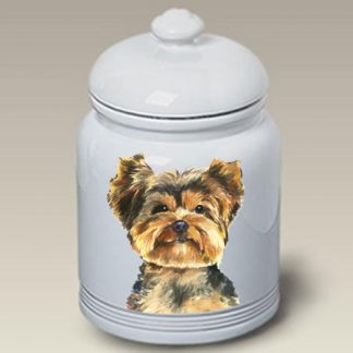 Yorkshire Terrier Dog Treat Cookie Jar II