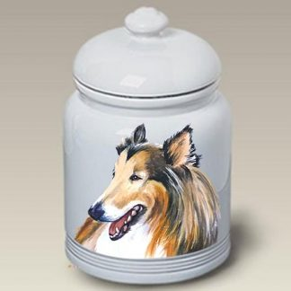 Collie Dog Treat Cookie Jar II