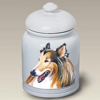 Collie Dog Treat Cookie Jar II