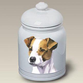 Jack Russell Terrier Dog Treat Cookie Jar II