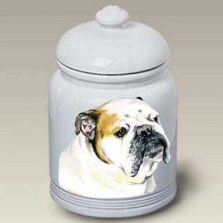 Bulldog Dog Treat Cookie Jar II
