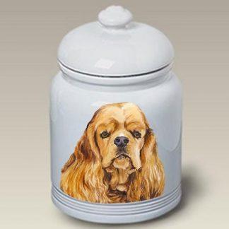 Cocker Spaniel Dog Treat Cookie Jar II