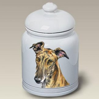 Greyhound Dog Treat Cookie Jar II