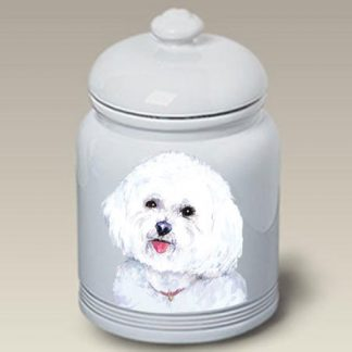 Bichon Frise Dog Treat Cookie Jar II