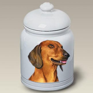 Dachshund Dog Treat Cookie Jar II