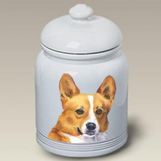 Corgi Dog Treat Cookie Jar II