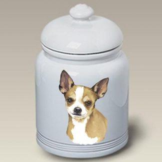 Chihuahua Dog Treat Cookie Jar II