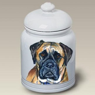 Bullmastiff Dog Treat Cookie Jar II