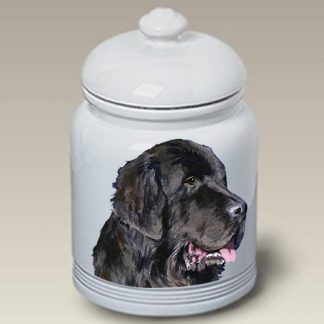 Newfoundland Dog Treat Cookie Jar II