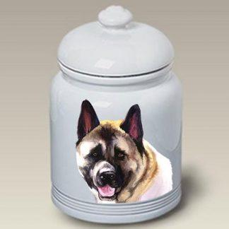 Akita Dog Treat Cookie Jar II