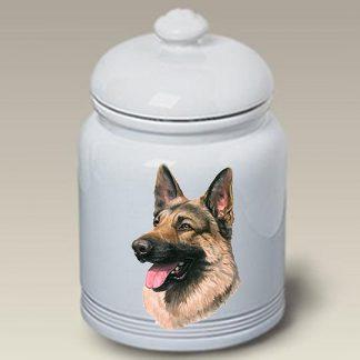 German Shepherd Dog Treat Cookie Jar