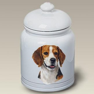 Beagle Dog Treat Cookie Jar