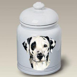 Dalmatian Dog Treat Cookie Jar
