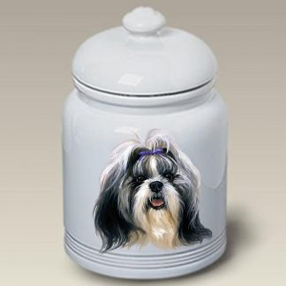 Shih Tzu Dog Treat Cookie Jar