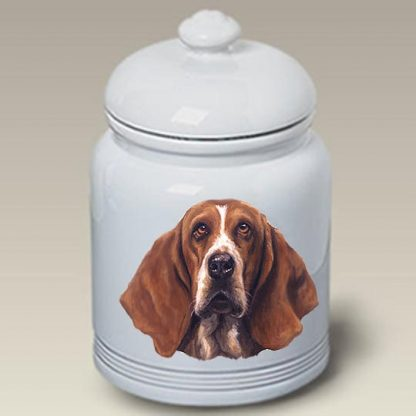 Basset Hound Dog Treat Cookie Jar