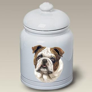 Bulldog Dog Treat Cookie Jar