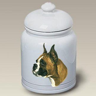 Boxer Dog Treat Cookie Jar