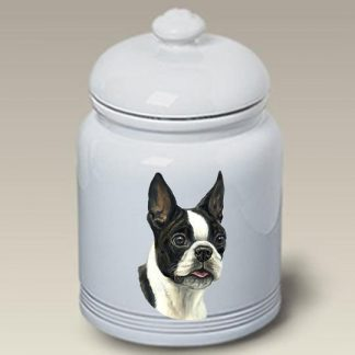 Boston Terrier Dog Treat Cookie Jar
