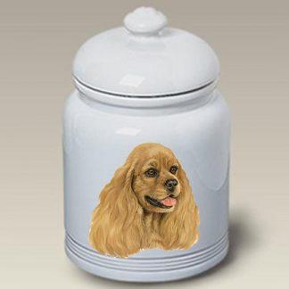 Cocker Spaniel Dog Treat Cookie Jar