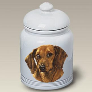 Dachshund Dog Treat Cookie Jar