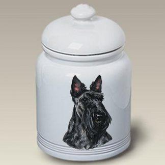 Scottish Terrier Dog Treat Cookie Jar