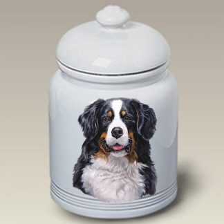Bernese Mountain Dog Dog Treat Cookie Jar