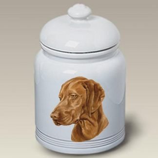 Vizsla Dog Treat Cookie Jar