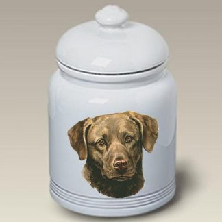 Chesapeake Bay Retriever Dog Treat Cookie Jar