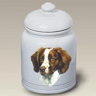 Brittany Dog Treat Cookie Jar