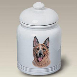 Australian Cattle Dog Dog Treat Cookie Jar