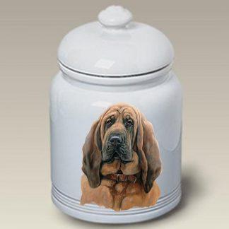 Bloodhound Dog Treat Cookie Jar