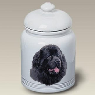 Newfoundland Dog Treat Cookie Jar