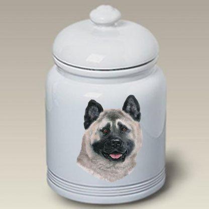 Akita Dog Treat Cookie Jar