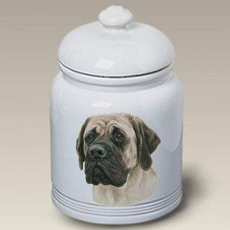 Mastiff Dog Treat Cookie Jar