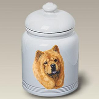 Chow Chow Dog Treat Cookie Jar