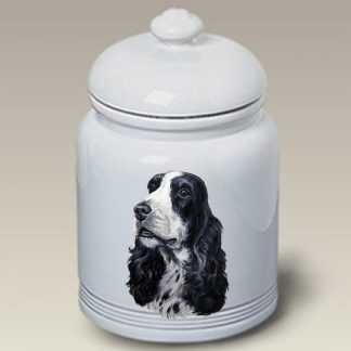 English Cocker Spaniel Dog Treat Cookie Jar