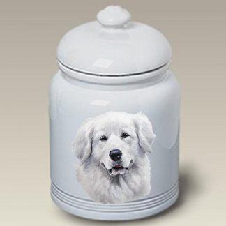 Great Pyrenees Dog Treat Cookie Jar