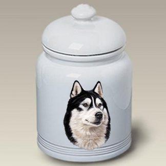 Alaskan Malamute Dog Treat Cookie Jar